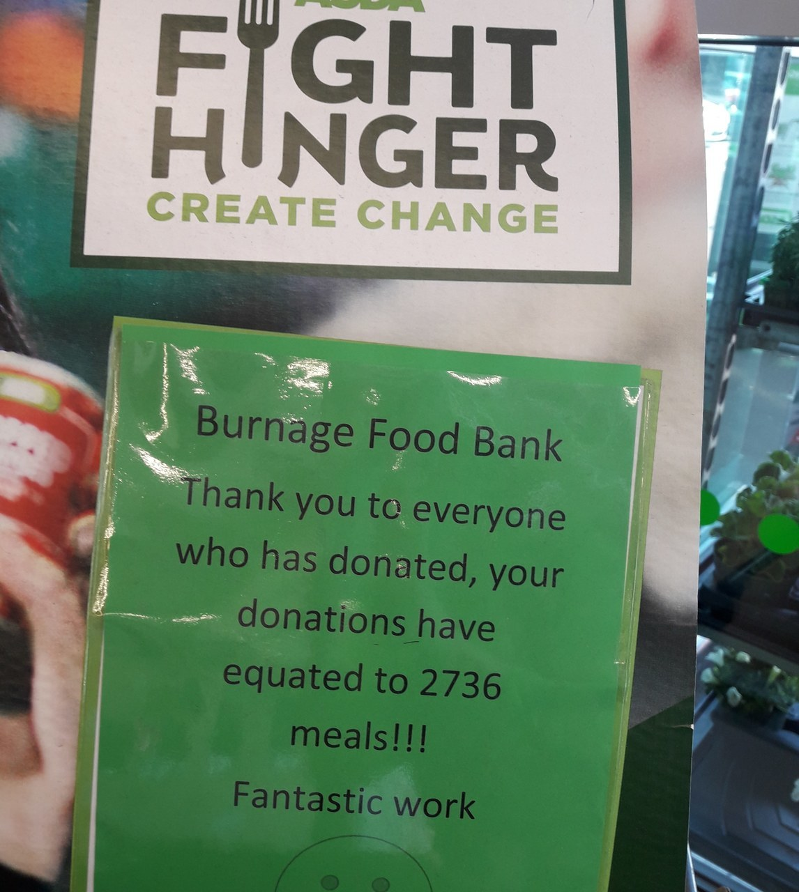 Supporting our food bank | Asda Reddish