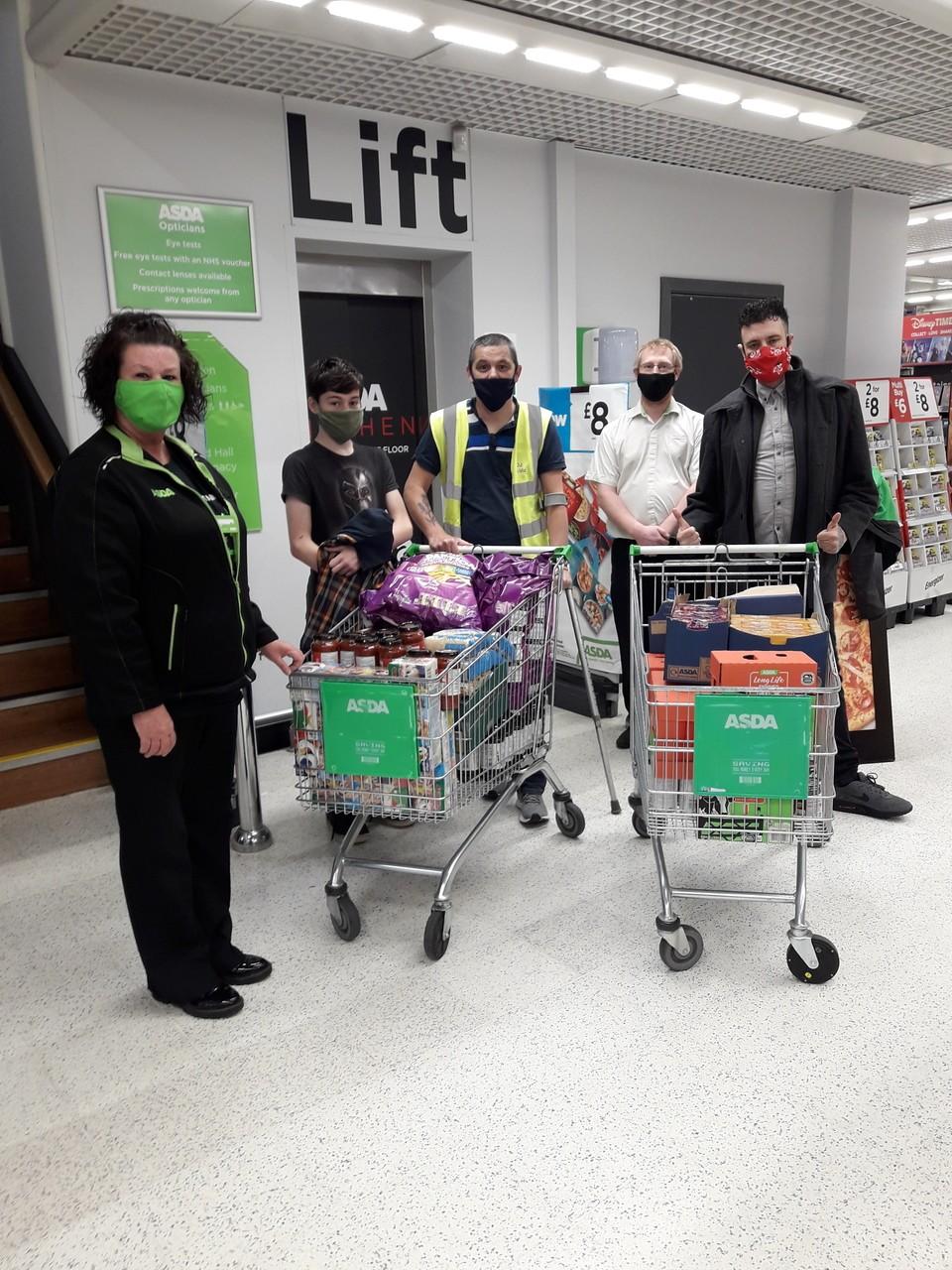 Coronaheroes Peterborough donation | Asda Peterborough