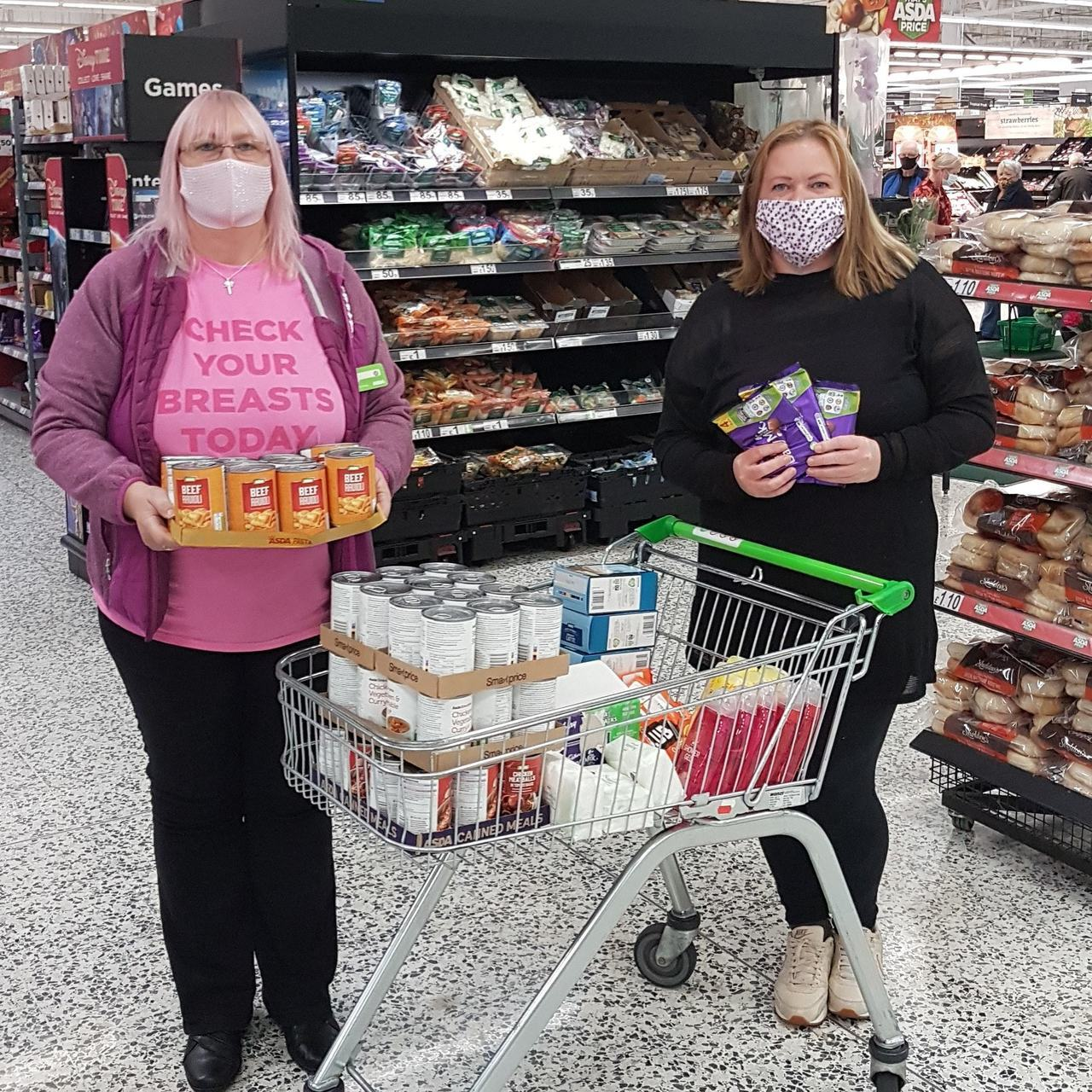 Helping the homeless | Asda Pilsworth