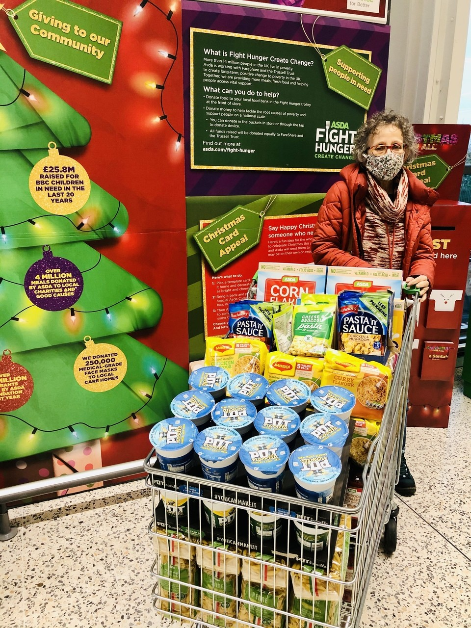 Food bank donation | Asda Leicester Abbey Lane