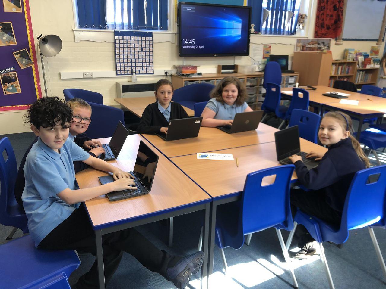 School laptops donation | Asda Hessle