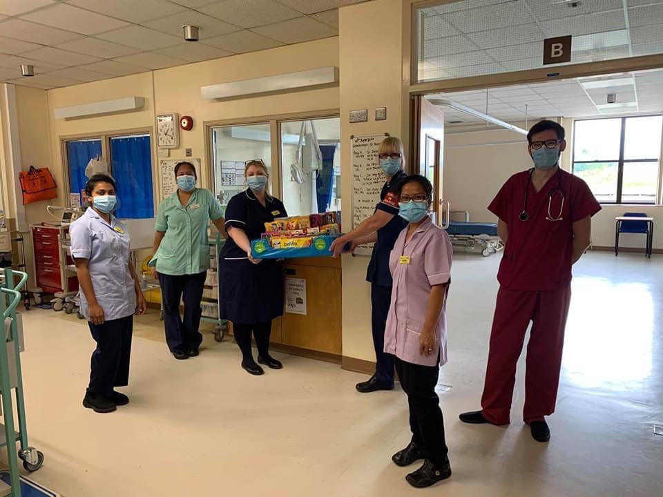 Thanks to staff at the Princess Royal Hospital | Asda Telford