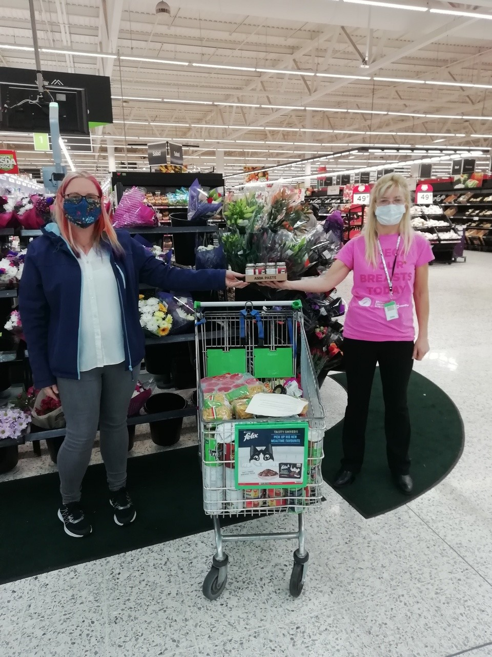 Church of the Nazarene donation | Asda Morley