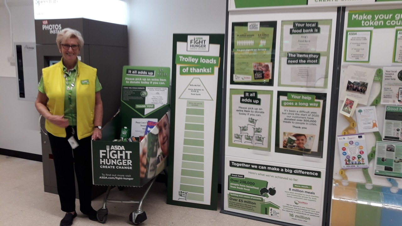 Fight Hunger Create Change campaign in  | Asda Darlington