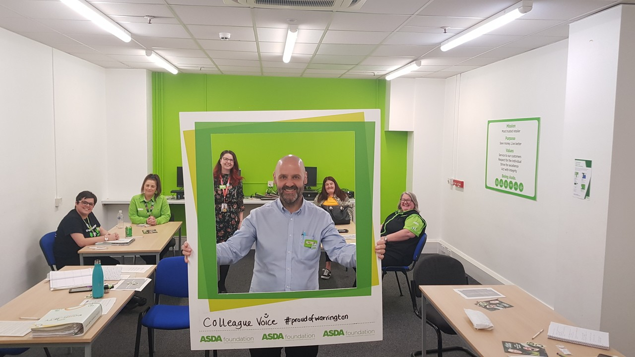 Community work | Asda Warrington