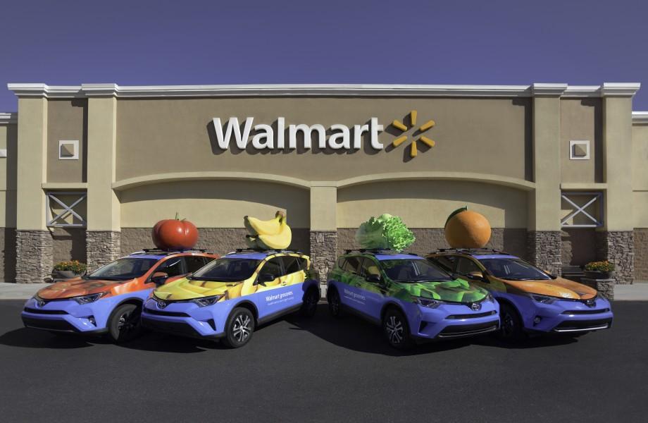 Walmart Fruit Cars