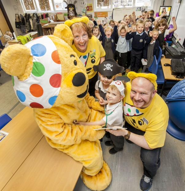 Smiles all round as Pudsey and Asda colleagues teach youngsters about the power of play