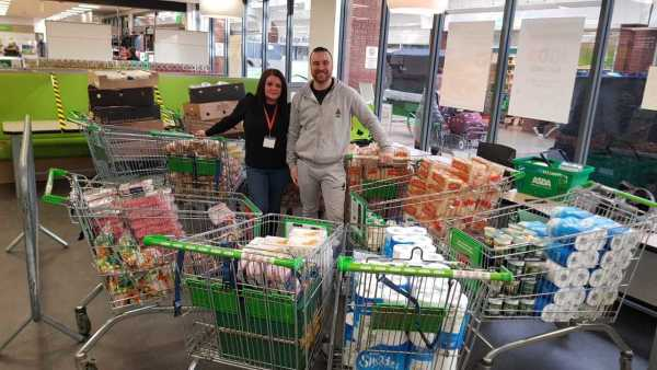 Asda Warrington supports flood-hit communities
