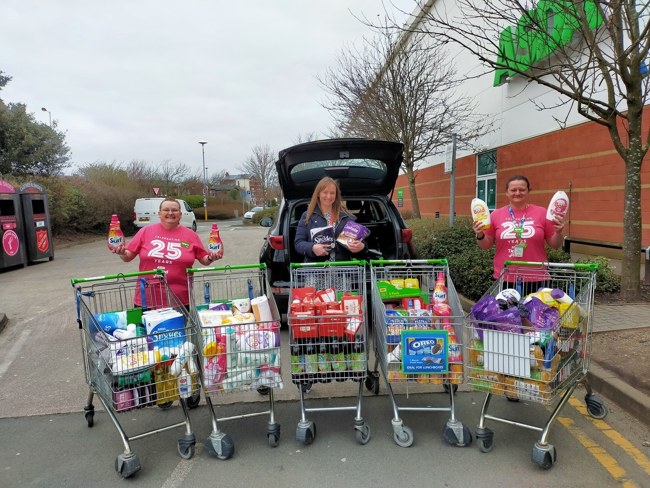 Shoreside Primary School donation | Asda Southport