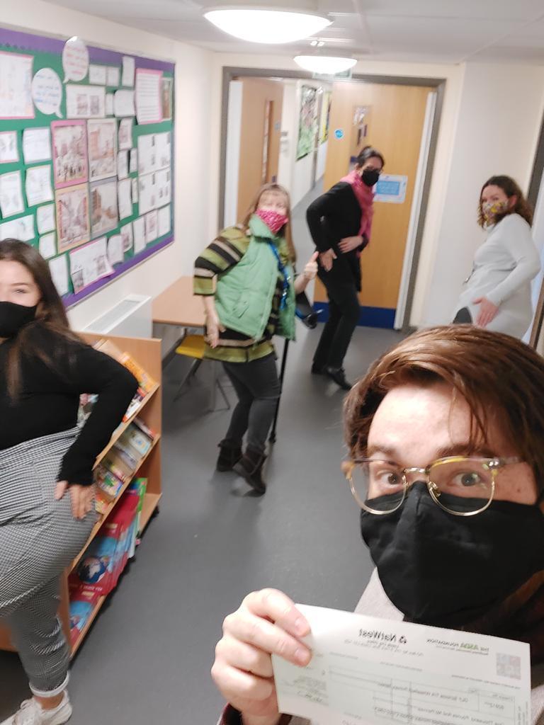 £1,000 grant for Wheatfield School | Asda Lower Earley