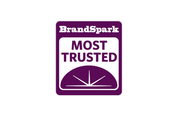 BrandSpark Most Trusted logo