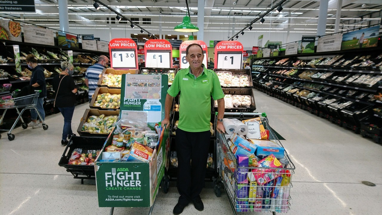 Supporting North Bristol Foodbank  | Asda Filton