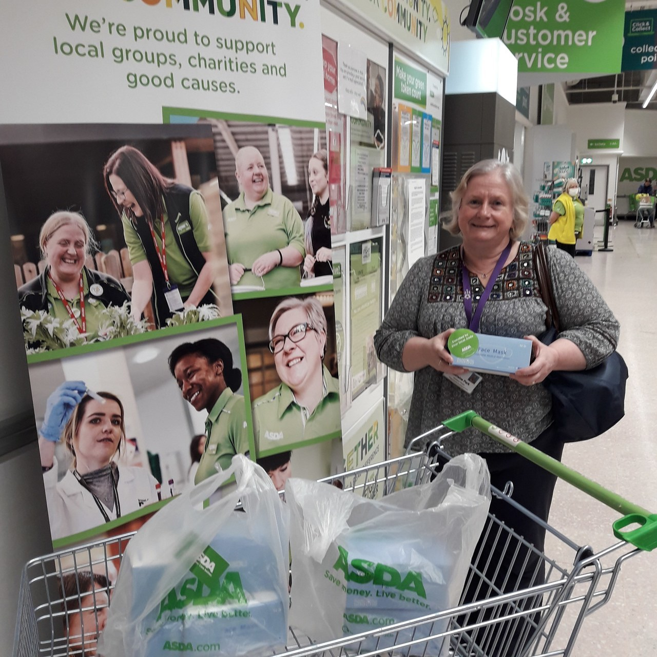 Supporting local care home | Asda Middleton Park