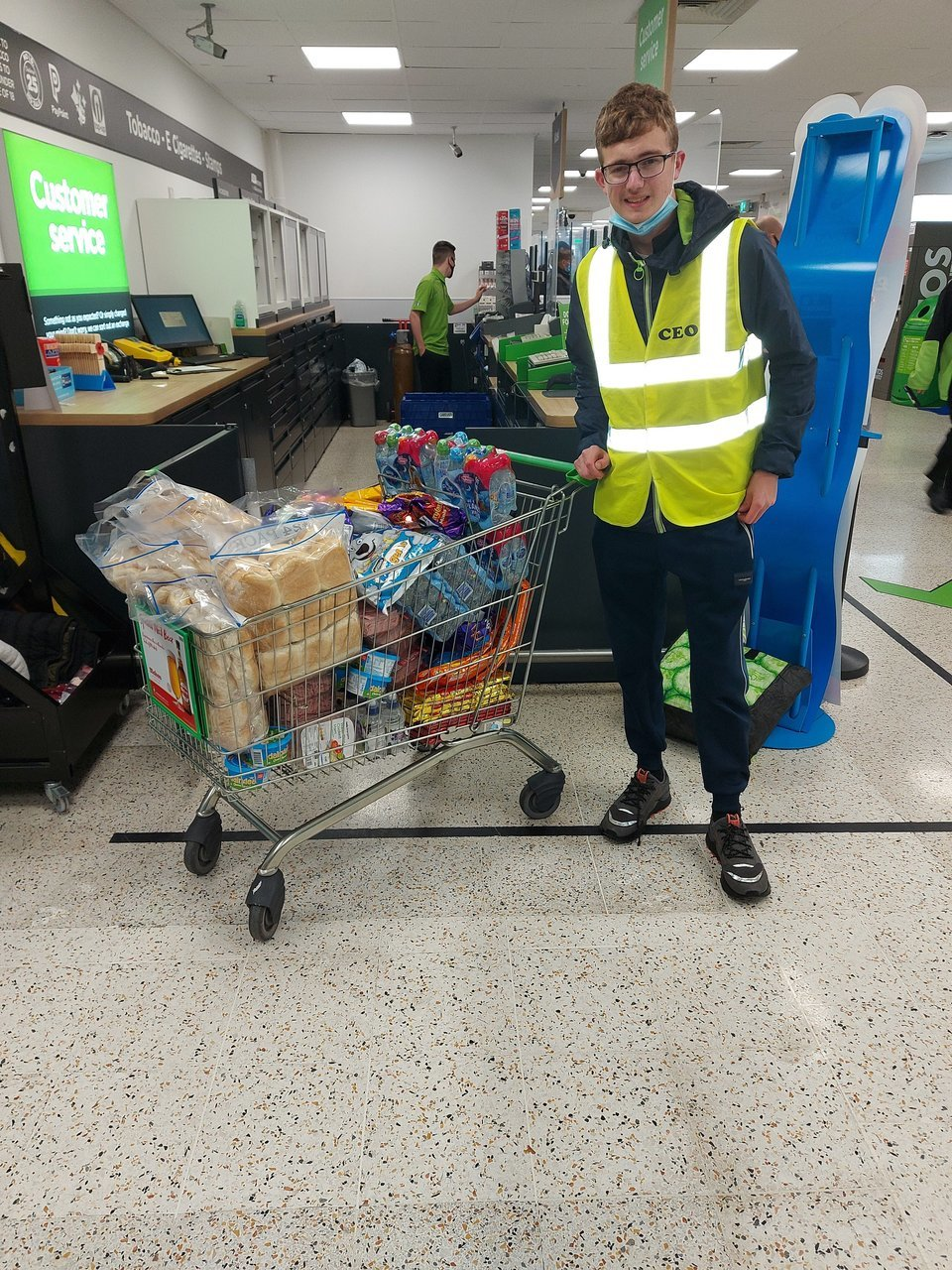 October Half Term Fight Hunger | Asda Farnworth