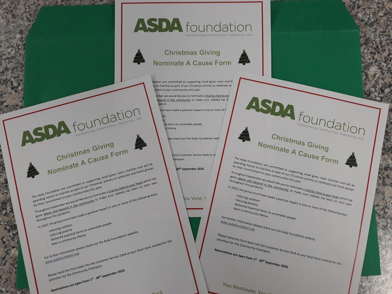 Christmas grants | Asda Gosforth