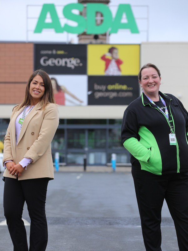 Lauren Elliott from Asda Bangor helps support people with autism