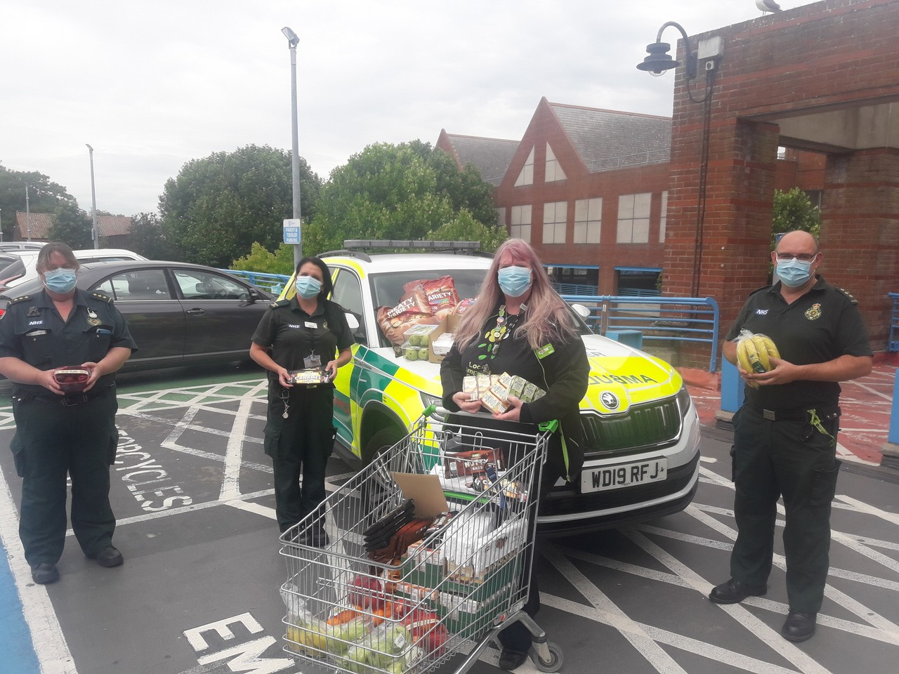 Supporting Trowbridge Ambulance station | Asda Trowbridge