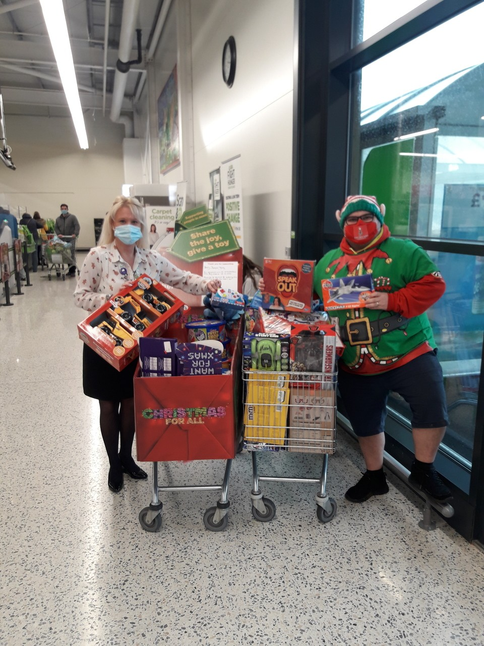Christmas Toy appeal. | Asda Barry