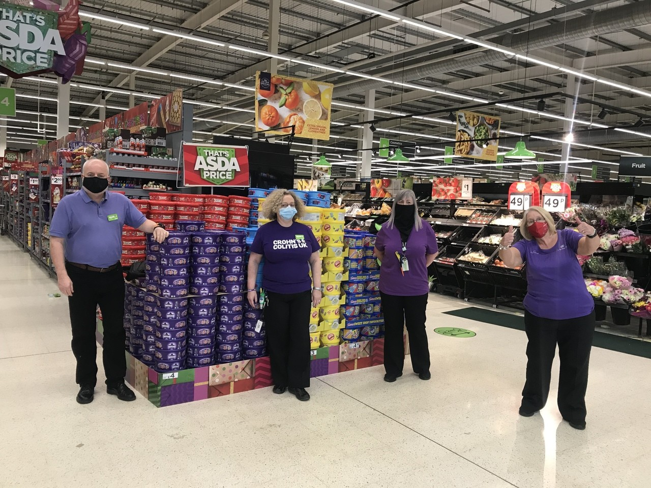 Supporting Purple Tuesday | Asda Ayr