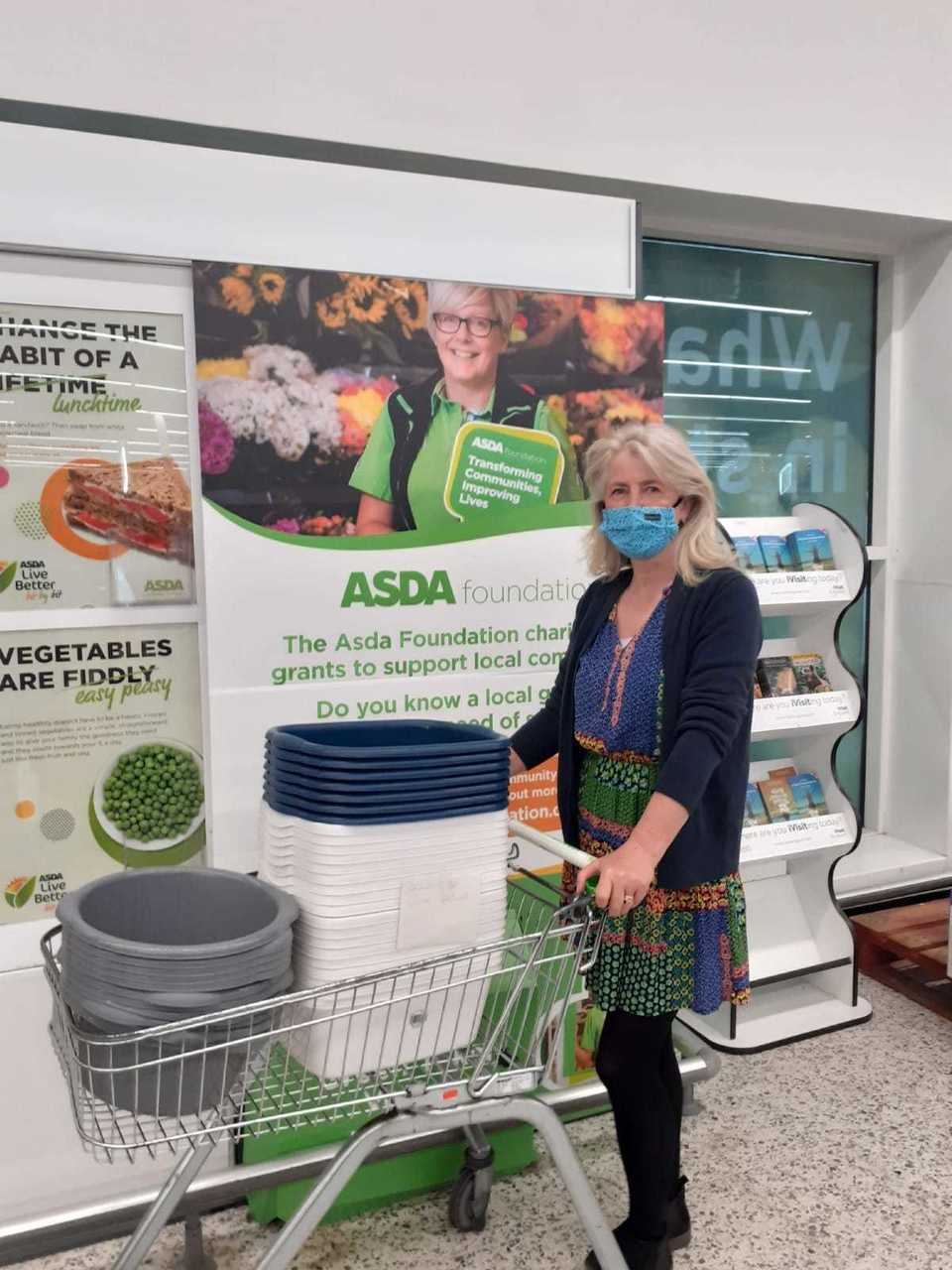 Washing up bowl donation | Asda Fareham