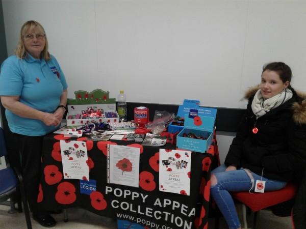 Poppy Appeal at Asda Darlington