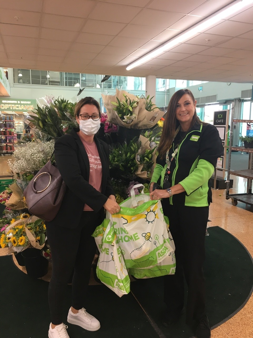 Donations for  local Mencap Society  | Asda Longwell Green