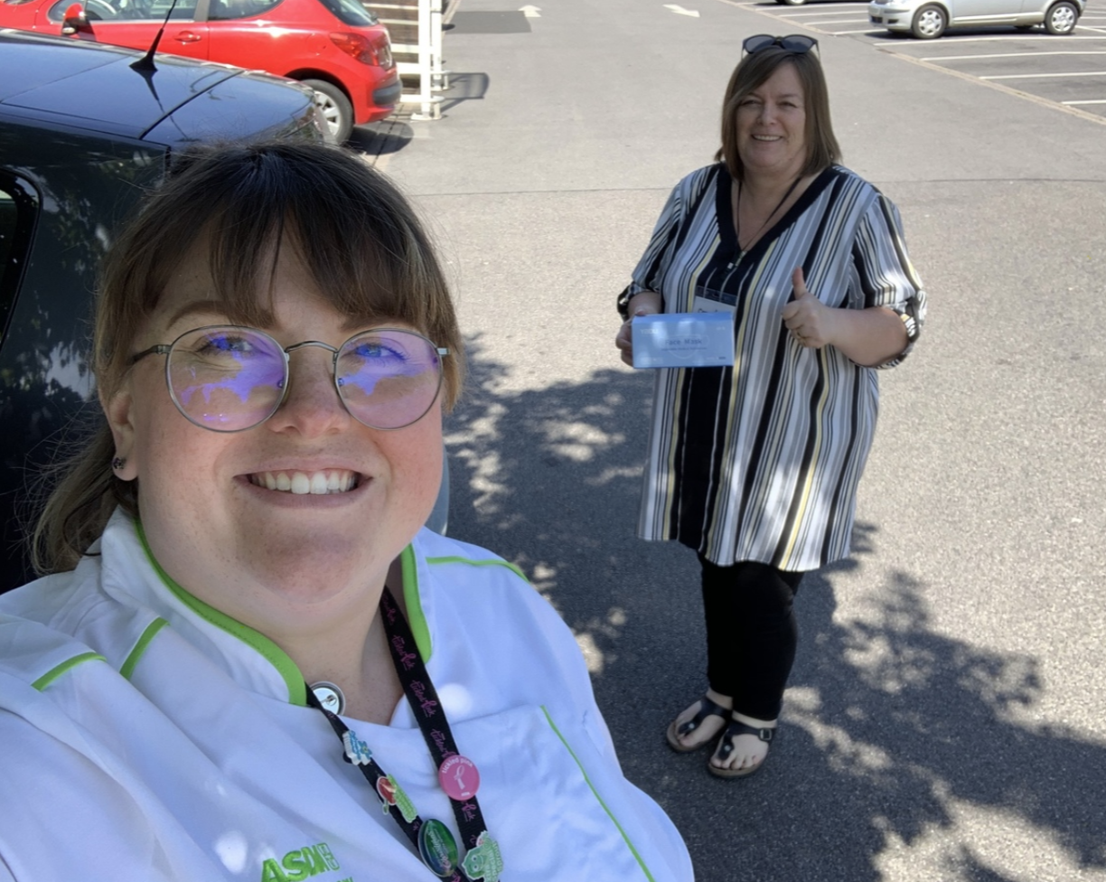 Happy to support local food bank | Asda Bristol Whitchurch