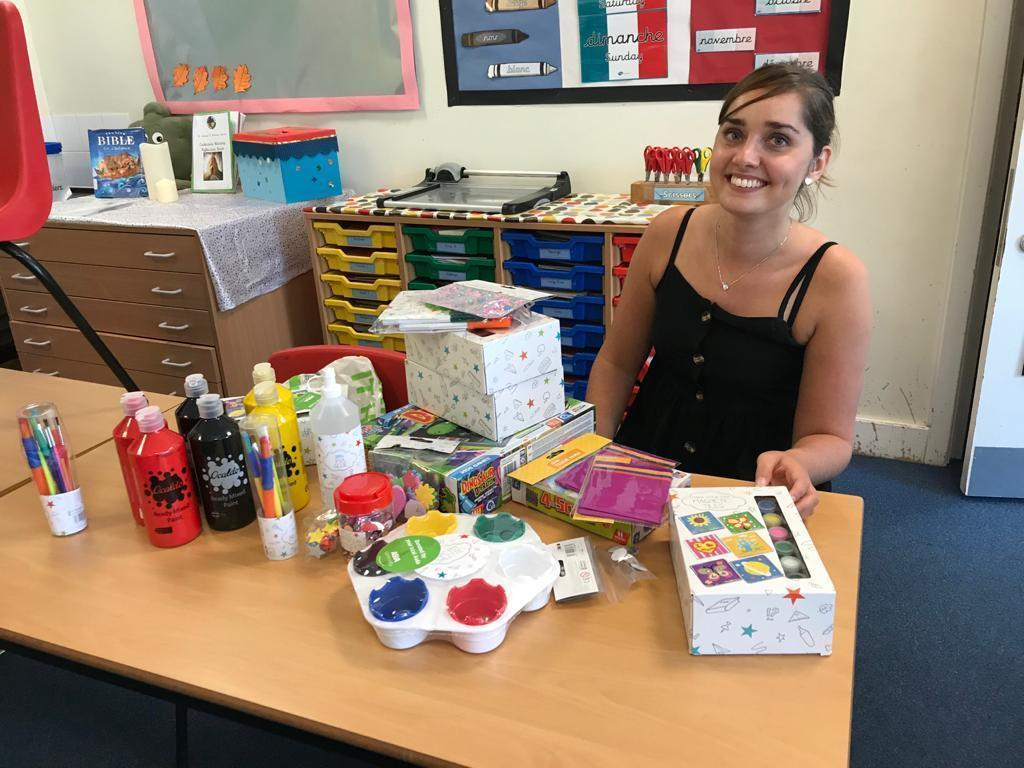 Arts and crafts donations for St Anne's Primary School | Asda Longwell Green