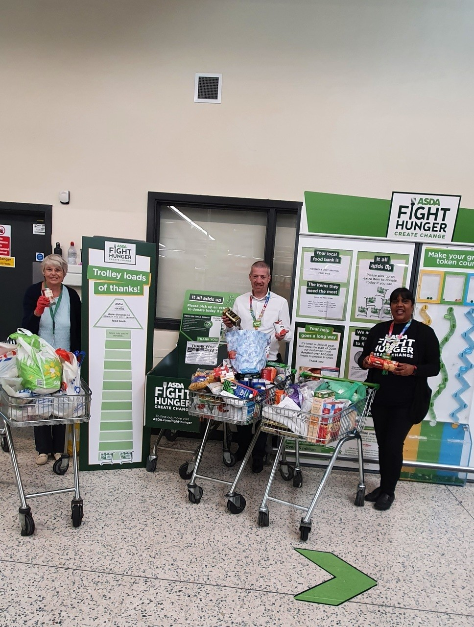 Fight Hunger donations | Asda Hayes