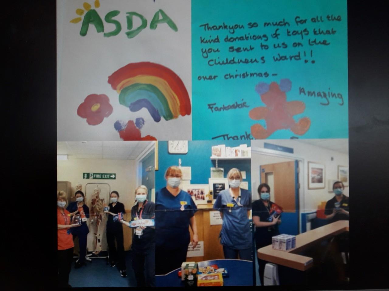 Children's Hospital Ward Christmas TOY JOY | Asda Barnstaple