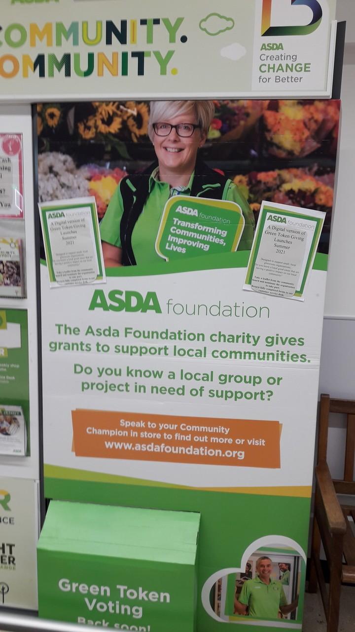 Digital Green Token Giving launches this summer | Asda Darlington