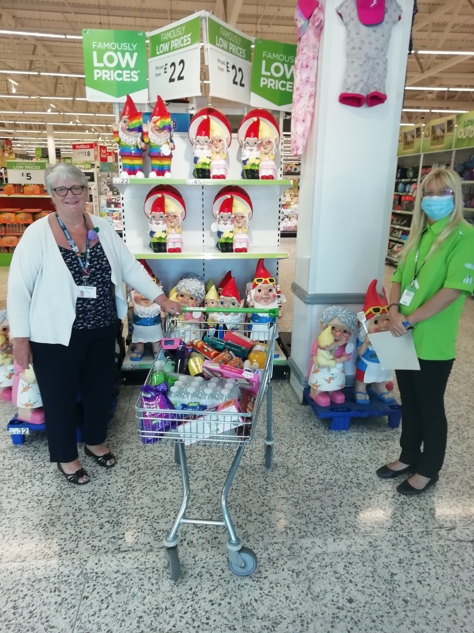 Toiletries and refreshments for hospice | Asda Morley