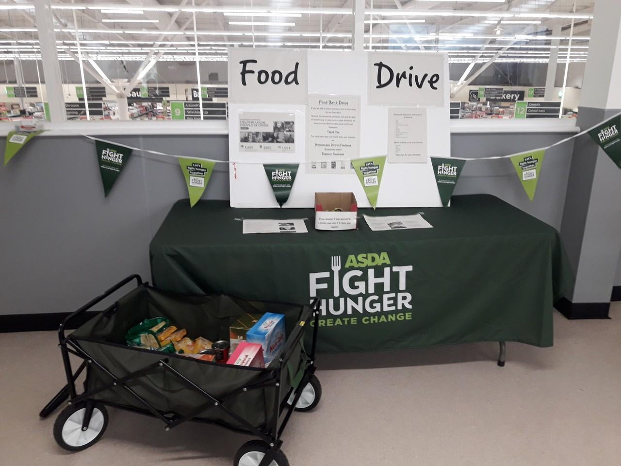 Fight hunger create change   Asda Skelmersdale