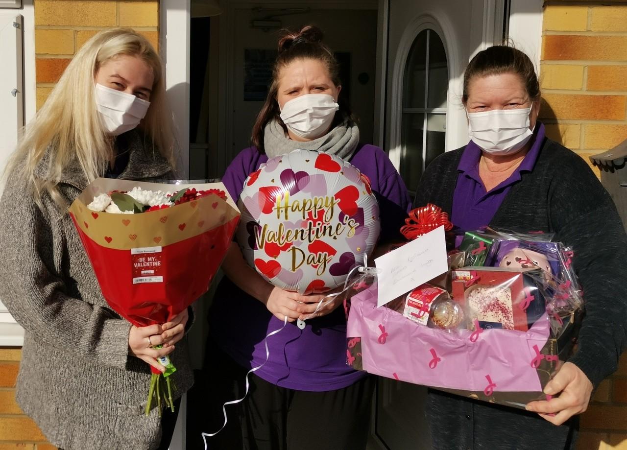 Valentine hamper for Boulevard Lodge | Asda Shoebury