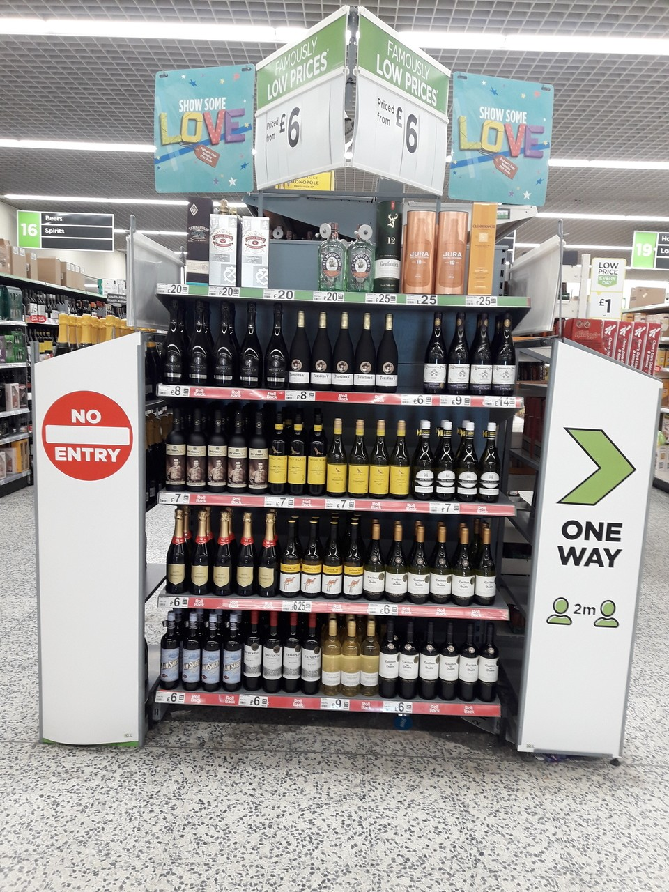 Ashton one way system | Asda Ashton
