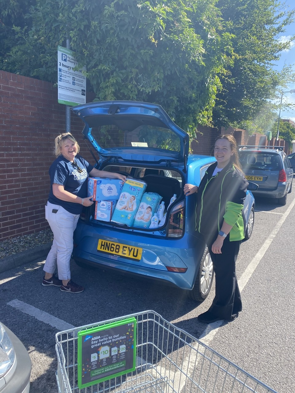 Baby basics donation | Asda Portsmouth