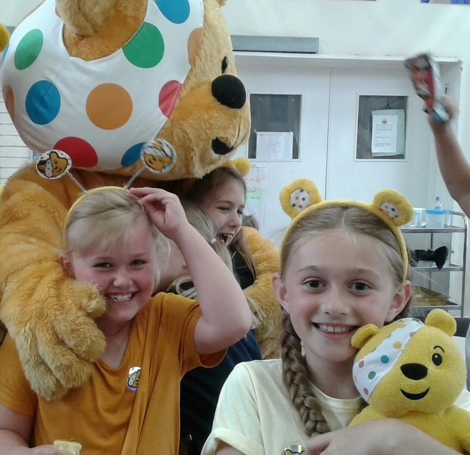 BBC Children in Need party at Warrington