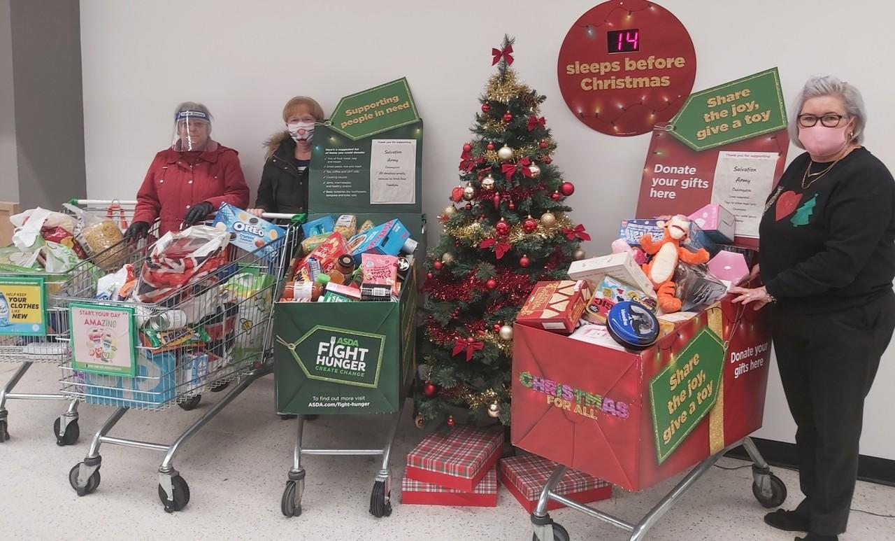 Fight Hunger donations | Asda Donnington Wood