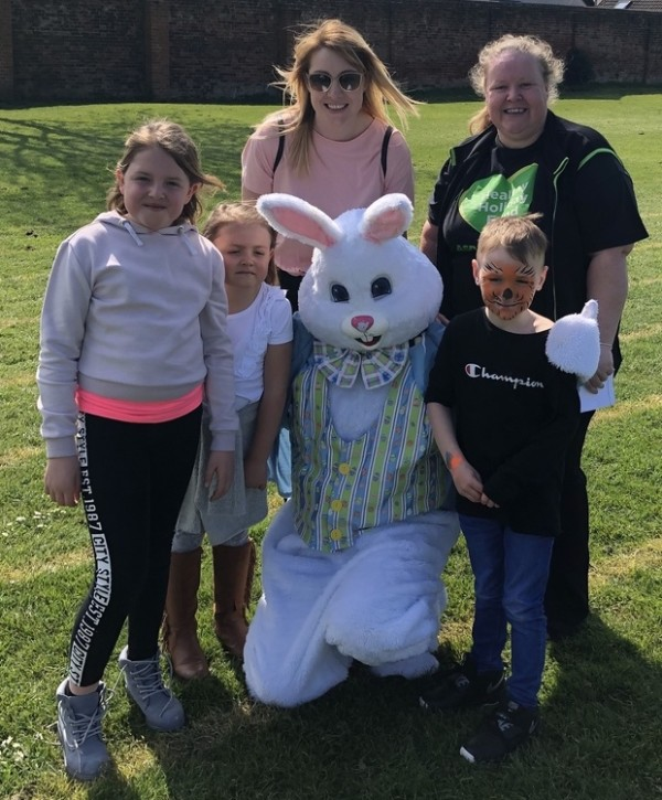 Easter fun with Asda Gosport community champion Rachel Webber