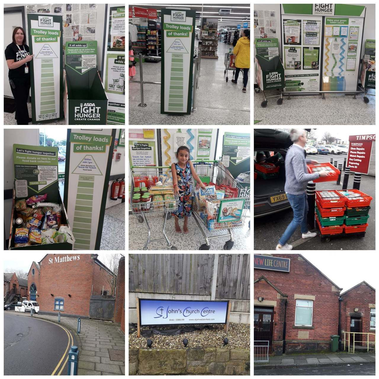 Supporting our Fight Hunger Create Change initiative | Asda Ashton