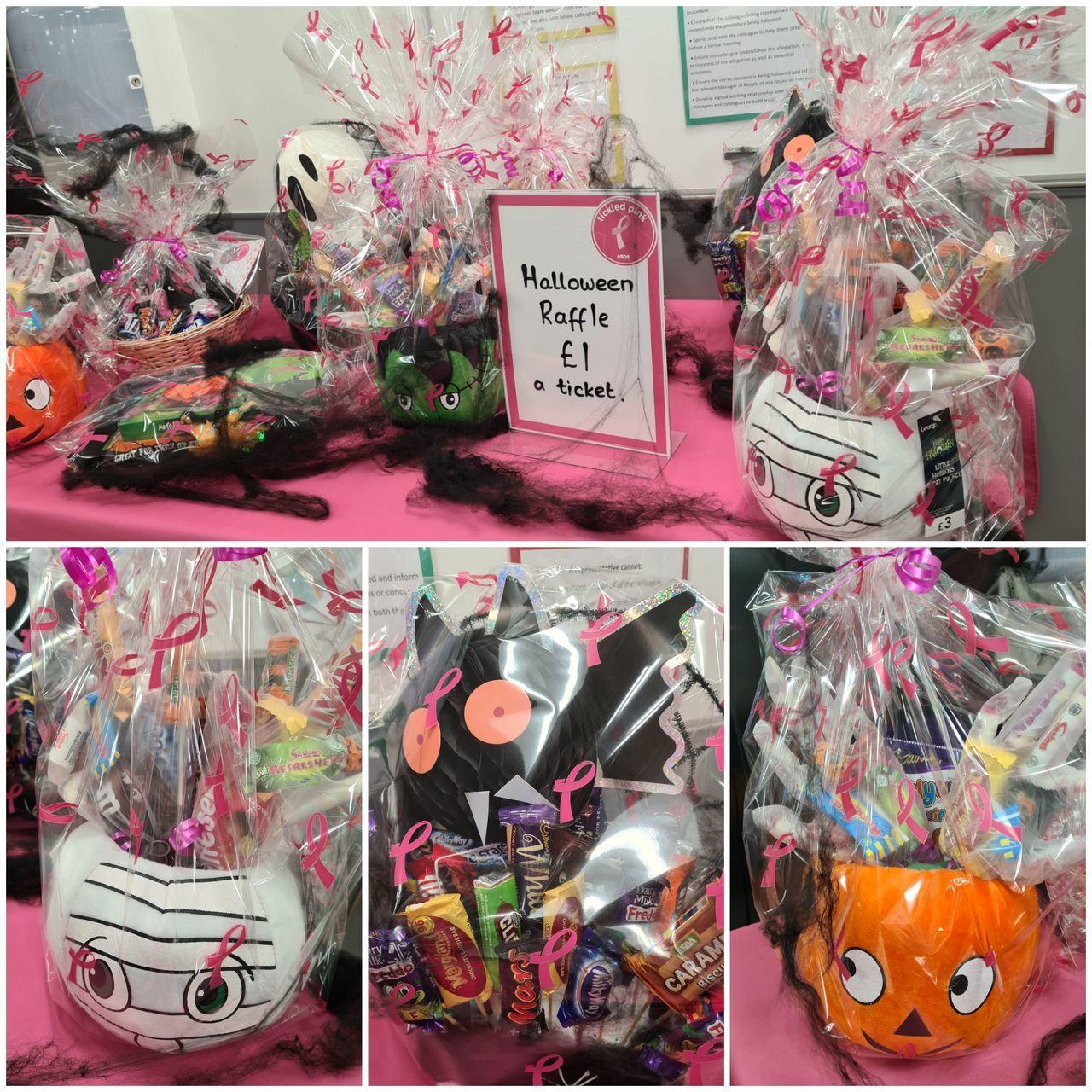 Colleague Halloween raffle | Asda Newport Isle of Wight