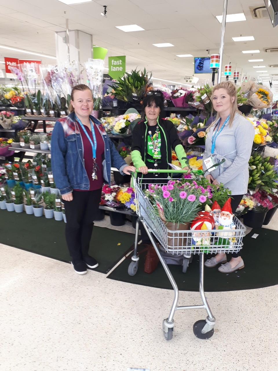 Valley View Care Home donation | Asda Huddersfield