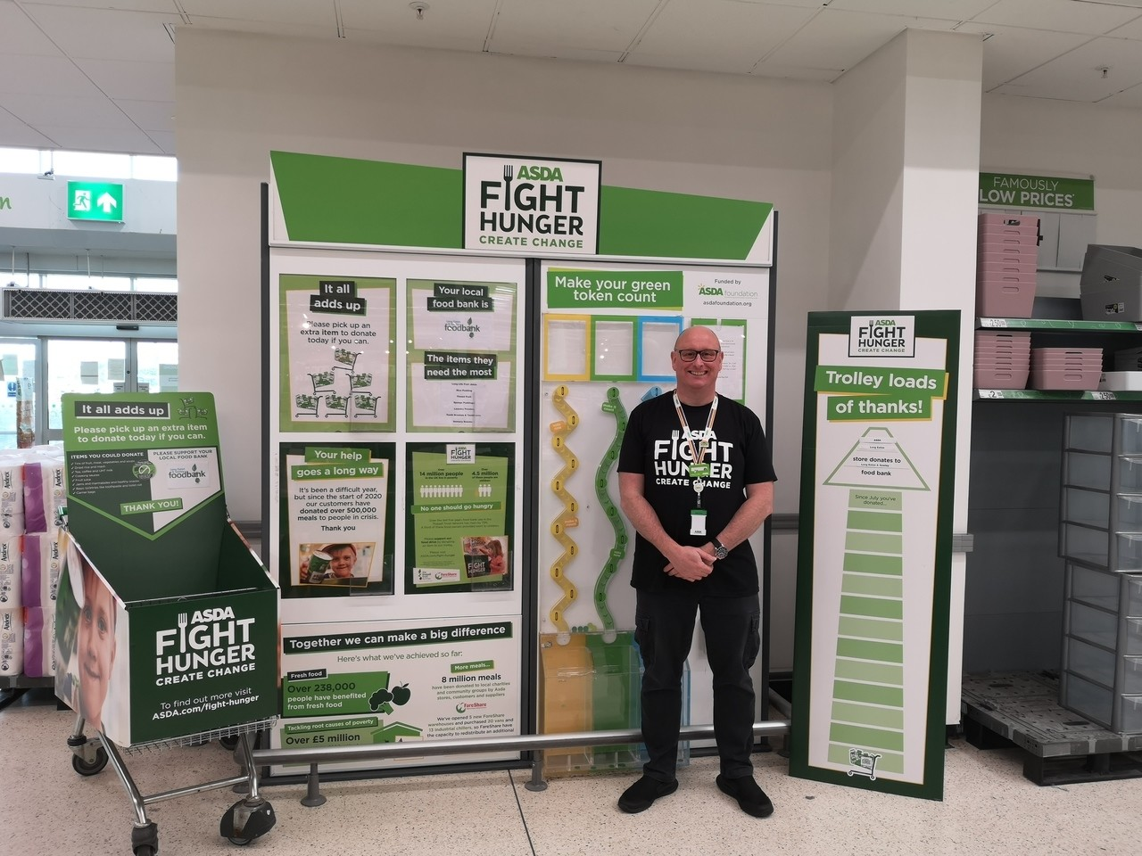 Fight Hunger support | Asda Long Eaton