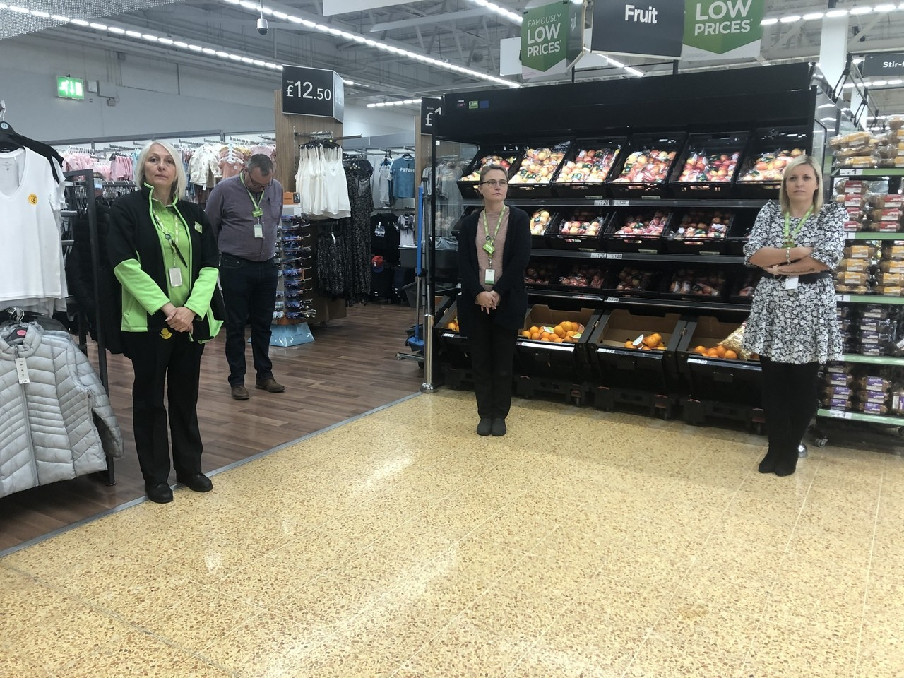 One-minute silence to remember key workers  | Asda Charlton