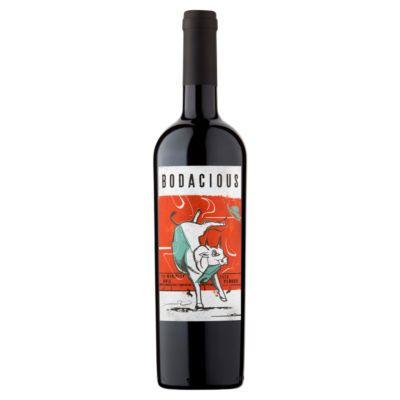 Bodacious red wine