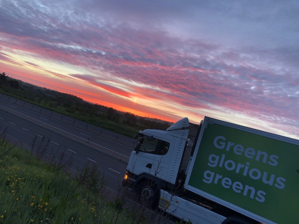 Asda lorry driver Ian McIlroy takes stunning pictures on his rounds
