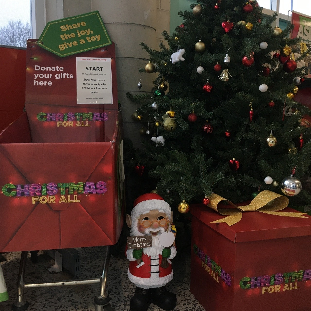 Community Christmas - gift appeal  | Asda St Austell