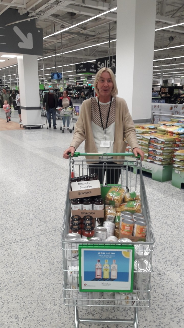 Food donations to Nerhterton Feelgood Factory and Big Help Project | Asda Aintree