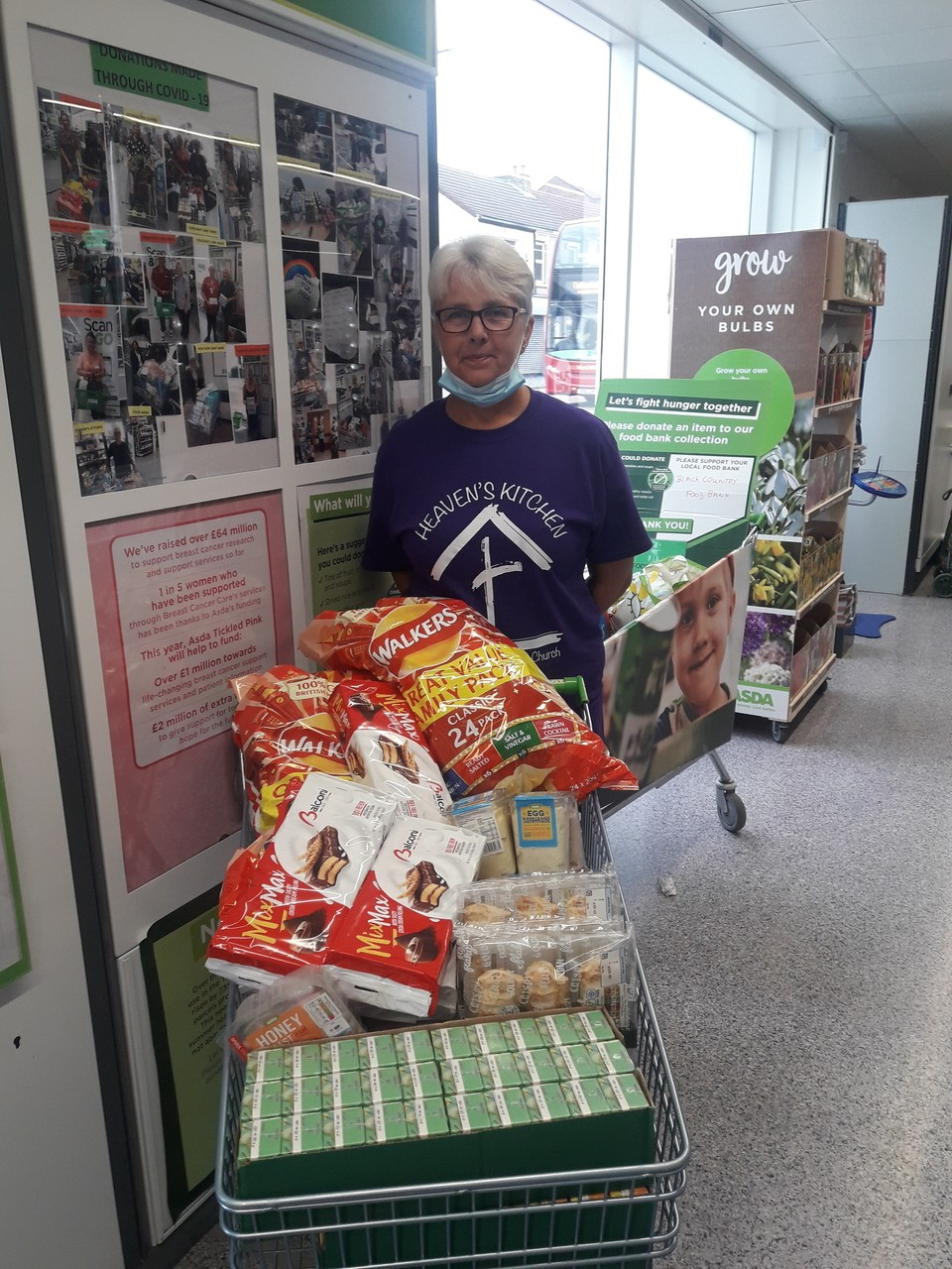 Donation to Heaven's Kitchen | Asda Sedgley