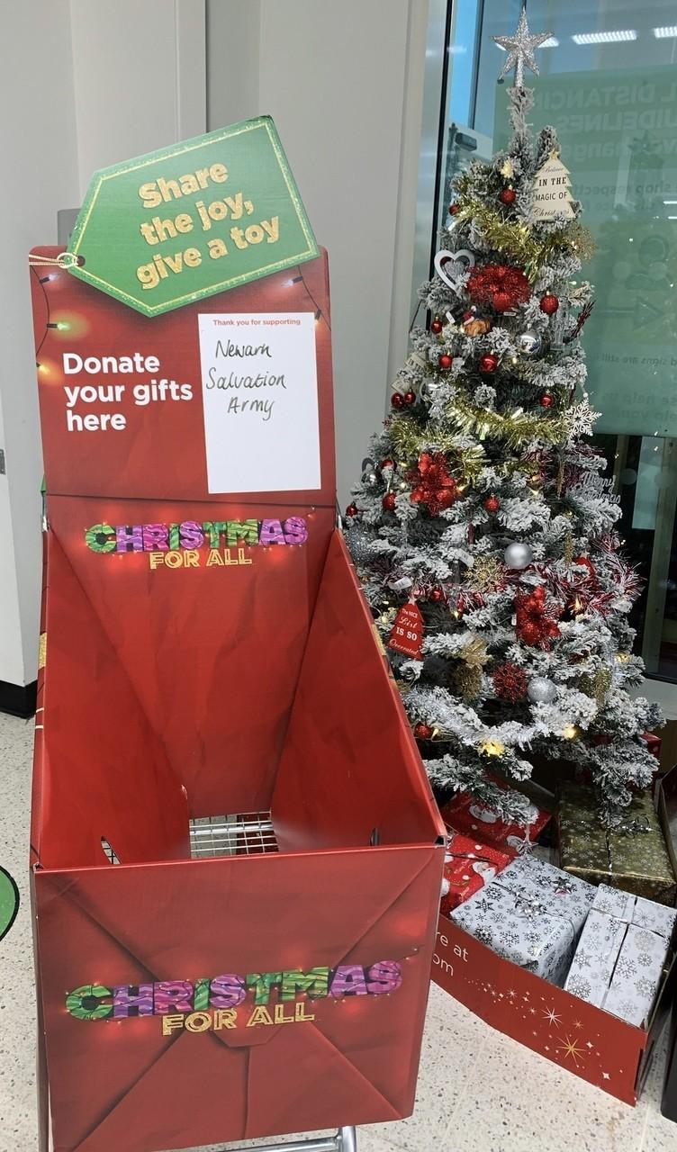 Salvation Army Gift Appeal | Asda Newark